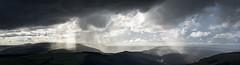 Storm cloud and sunbeams (Keartona) Tags: peakdistrict weather dramatic storm clouds dark sunbeams sunlight derwent derbyshire england hills