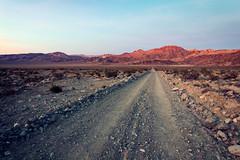 Saline Valley Road (matthewkaz) Tags: salinevalley deathvalley desert mountains inyomountains sky clouds sunset road trail lippincott lippincottmineroad orv california 2014 noisy