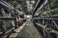 Cookham Manor (Darwinsgift) Tags: didcot steam centre train museum locomotives nikkor 19mm f4 pc e tilt shift railway hdr photomatix multiple exposure tripod nikon d810