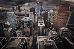 Vancouver BC - Exchange Tower (40) (doublevision_photography) Tags: vancouver vancouvercity vancouverrealestate vancouverbc vancouverskyline vancity vancouvercanada jasocrane constructioncrane vancouverconstruction roofing vancouverroofing contruction towercranephotography flyingtables tableflying