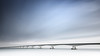 Blue Contemplation (frank_w_aus_l) Tags: zeelandbrücke netherlands bridge longexposure nikon d810 architecture infinity infinite contemplation color colijnsplaat zeeland niederlande nl bluewhite blue white zeelandbrug scenery clouds stream