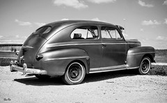 or best offer... (Stu Bo) Tags: sbimageworks sunlight vintagecar vintageautomobile retro monotone carphotography carspotting oldschool canon certifiedcarcrazy classiccar coolcar canonwarrior forsale blackandwhite bnw worldcars warrior wheels whitewalls outdoor