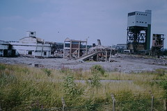 Mosley Common Colliery (ee20213) Tags: mosleycommoncolliery ncb abandoned disused pit demolition coalmine
