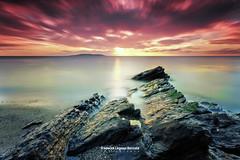 High Rock at sunrise I Portmarnock Ireland (Frederick Bancale) Tags: sea seascapes pinky rocks sunrise ireland dublin portmarnock xt2 fuji