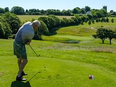 Steve Hughes on the 10th Tee (Neville Wootton Photography) Tags: 2017golfseason captainsdaysmens golf golfsectionmens stmelliongolfclub stevehughes teeshots saintmellion england unitedkingdom