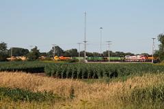 BNSF 694 Take 2 (CC 8039) Tags: bnsf trains c449w sd402 sd402b gp50 gp30 sd75m gp38 galesburg illinois