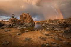 Watson-Lake-5363-Edit-Edit-Edit-Edit (Michael-Wilson) Tags: michaelwilson watsonlake rainbow lightning lake prescott arizona southwest