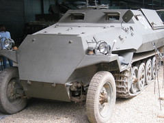 German Sd.Kfz. 251 Half-Track (The War Years) Tags: iwmduxfordlandwarfare sdkfz germanarmy ww2 halftrack