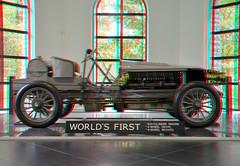 Spyker Louwman 3D (wim hoppenbrouwers) Tags: spyker louwman 3d anaglyph stereo redcyan car automobiel 4wd
