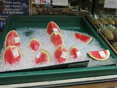 Sunday Colours - Watermelon on Ice (Pushapoze (nmp)) Tags: newyorkcity chelsea watermelon ice glacons pasteque