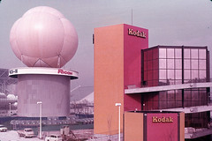09 Ricoh Pavilion & Kodak Pavilion (adelaidefire) Tags: world exposition 1970 expo 70 suita osaka japan sk colour slides 35mm