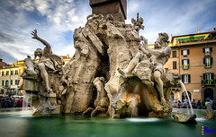 "Fontana dei Quattro Fiumi • <a style=""font-size:0.8em;"" href=""http://www.flickr.com/photos/89679026@N00/35172168924/"" target=""_blank"">View on Flickr</a>"