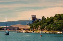 118 - Croatie, Ploče, sur le port (paspog) Tags: ploče croatie port hafen croatia mai may 2017