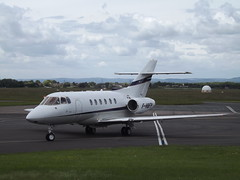 F-HBFP Hawker 125-800XP Flying Passion SA (Aircaft @ Gloucestershire Airport By James) Tags: gloucestershire airport fhbfp hakwer 125800xp flying passion sa bizjet egbj james lloyds
