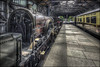 The Pioneer (Darwinsgift) Tags: didcot railway centre museum steam oxfordshire train trains carriage platform nikkor f4 19mm pc e tilt shift tiltshift nikon d810 hdr photomatix iron duke locomotive
