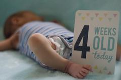Project365-82 (michellebain1) Tags: 4weeksold baby boy blue sleeping feet babytoes toes newborn babyboy love joy perfect