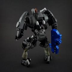 FKL.1 Mechsuit (Marco Marozzi) Tags: lego legomech legodesign legomecha marozzi marco moc mecha mech minifigure mechasuit mechsuit robot drone