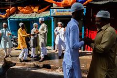 Eid Mubarak (SaumalyaGhosh.com) Tags: eid hug happiness greet color india kolkata street colors light streetphotography festival theindiatree