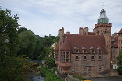 First view of Well Court (koukat) Tags: scotland edinburgh uk drive water leith walkway river path walk dean village