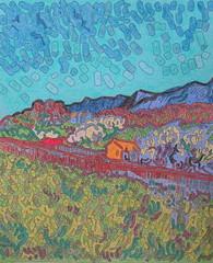 Vue des Alpilles - Van Gogh - 1890_0 (Luc II) Tags: vangogh alpilles