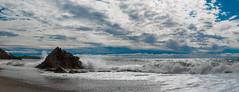 Whiterock, Killaney, Ireland (Vladimir Zakharov Dublin) Tags: splash seascape seaside seafront sea irishsea girl women nu