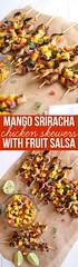 Mango Sriracha Chick (alaridesign) Tags: mango sriracha chicken skewers