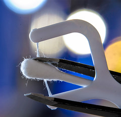 macro mondays three hmm (I was blind now I see!) Tags: macro mondays three cottton bud tweezers floss stick hmm