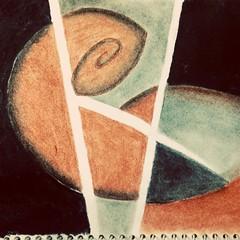 Embryo (arkamitralahiri) Tags: art artistic abstract drawing modernart drymedia pencil surreal artproject