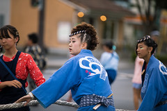 Namikicho Summer Festival 2017 (Apricot Cafe) Tags: img46681 asia asianandindianethnicities canonef70200mmf28lisiiusm ceremonialdancing dashifloat japan japaneseethnicity strength traditionalceremony celebration ceremony cheerful chibaprefecture cultures happiness lifestyles matsuri