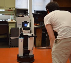 HSR Robot Demonstration (UT Aerospace Engineering & Engineering Mechanics) Tags: hsr toyota robot robocup utaustin ai students