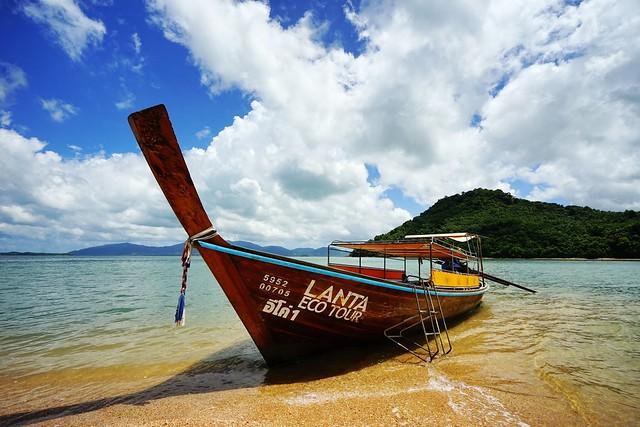 【亞洲,泰國】 蘭塔島Koh Lanta 到州立公園Green Lanta 出海去。