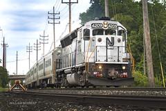 Boonton train #1001 (bozartproductions) Tags: new jersey train transit boonton geep railroad line nj engine