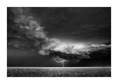 Lightning Strike IV (Sandra Herber) Tags: infrared oklahoma stormchasing lightning
