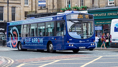 Go North East 4970 NK53UNW: Scania L94UB/Wright (LVNWtransFoto) Tags: gonortheast canoneos1dmkiv bus transport nebuses newcastle 4970 nk53unw scania l94ub wright bluearrow