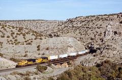 ATSF 5250 East at Abo Canyon, NM (thechief500) Tags: atsf abocanyon bnsf clovissubdivision railroads nm newmexico santaferailway atchisontopekaandsantafe