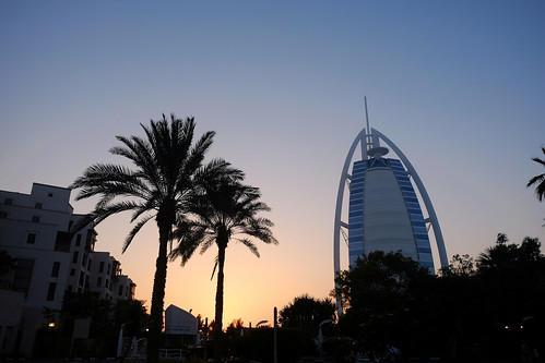 Evening at Burj Al Arab