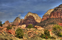 Zion National Park, Utah (klauslang99) Tags: nature naturalworld northamerica klauslang zion national park utah mountains landscapes