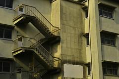 20170716_DP3M5085 (NAMARA EXPRESS) Tags: street building school elementaryschool stair window wall morning summer fine outdoor color foveonclassicblue spp653 toyonaka osaka japan foveon x3 sigma dp3 merrill namaraexp