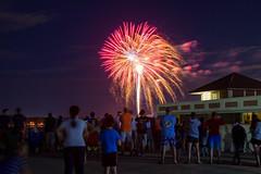 Fireworks (Jonathan O'Brien) Tags: fireworks longexposure lake summer independenceday massachusetts newengland