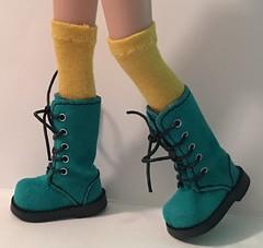 Spicy Mustard Tall Socks...For Blythe...