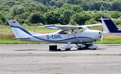 D-EGHL (goweravig) Tags: dehgl swanseaairport swansea wales uk cessna skylane 182 visiting aircraft