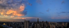 Bangkok 316-7 Panorama (SwissMike62) Tags: thailand bangkok city cityscape metropolis
