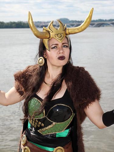 Lady Loki on the Potomac