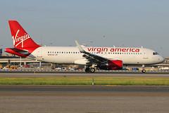 "N363VA | Airbus A320-214/W | Virgin America ""sky surfer"" (cv880m) Tags: newyork jfk kjfk kennedy aviation airliner airline aircraft jetliner airplane n363va airbus a320 320200 320214 winglet sharklet virgin virginamerica skysurfer"