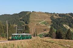 Anne à Voz' (Frédérick Jury) Tags: tmb tramway montblanc voza train bahn anne