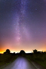 Milky Way meets light pollution (Sander Grefte) Tags: milkyway melkweg stars star sterren ster nijmegen landscape landschap langebelichting longexposure le night nightphotography nachtfotografie nacht lights sandergreftephotoscom tokina1228mm tokina