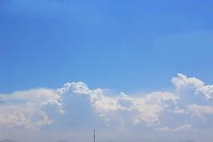 Above the clouds (Designium Tremens) Tags: sky clouds nubes cielo blue white glory heaven landscape panorama paraiso paradise paisaje