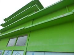 Ξανθη P1280345 (omirou56) Tags: 43ratio panasoniclumixdmctz40 αρχιτεκτονικη κτισμα κτιριο ελλαδα πρασινο τοιχοι architecture greece green walls outdoor