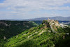 Civita. (CIV2) (mwhitney-hall) Tags: tuscany hilltown green hills valleys fortress medieval italy hill towns