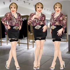 home15280-82 (Ann Drogyny) Tags: shoes legs heels crossdress crossdresser crossdressing cd tv tg ts transvestite transgender transsexual tranny tgirl glamour pinup mature cute sexy stockings nylons suspenders garters
